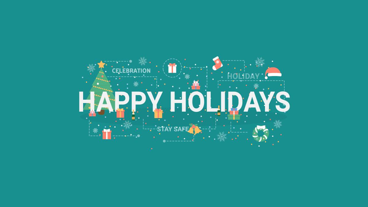 happy holidays happy new year 2021